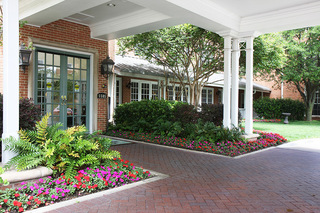 Dallas tx senior living front door