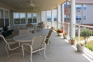 Patio arlington tx senior living