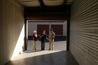 A view inside our storage units in Murfreesboro