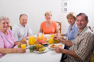 Pre Assisted Living residents of senior apartments in Kent