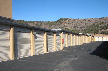 Self storage in Manitou Springs is safe