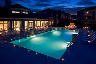Lafayette apartments have a resident clubhouse pool