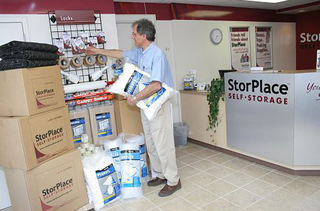 We sell packing and moving supplies at our Nashville self storage units