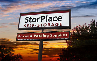 Sign to our Hermitage self storage facility