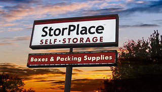 Sign to our Antioch self storage units