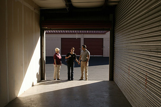 Inside self storage units in Murfreesboro