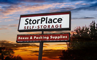 Sign to our Nashville TN storage facility