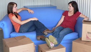 Friends moving from Nashville self storage units