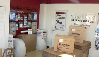 Moving supplies at Nashville self storage