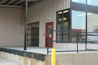 Loading dock outside our Murfreesboro self storage units