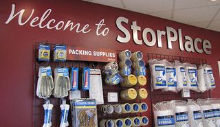 Packing supplies for sale at Murfreesboro self storage unit
