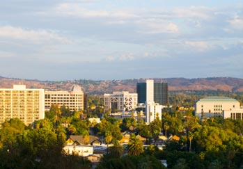 City scape of Riverside, California a service area of Pouch Records Managemenet
