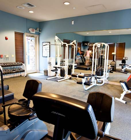 Gym fitness The Fairmont at Willow Creek
