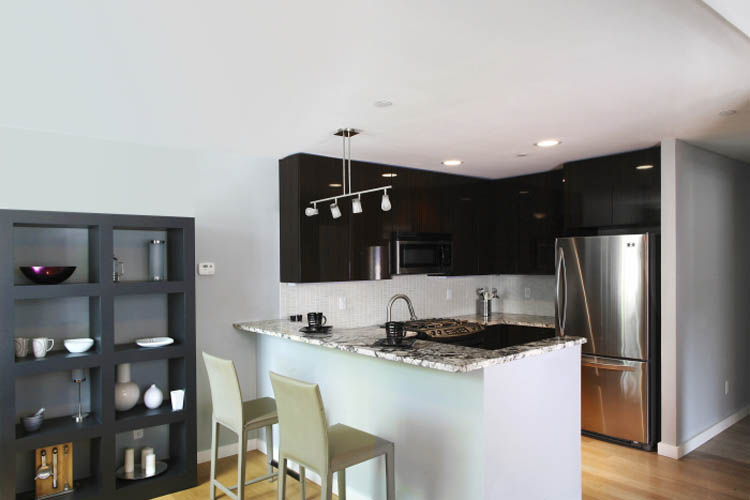 Brooklyn luxury apartments kitchen