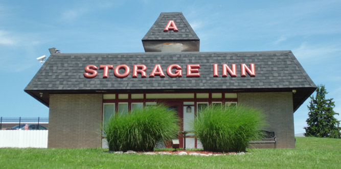 Storage inns front view