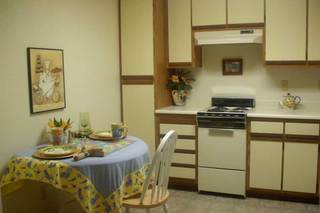 Senior living in sacramento kitchen and dining