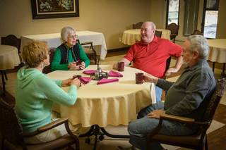 Des moines senior living residents