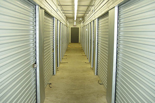 Storage units interior in vancouver