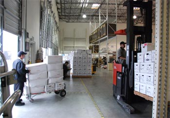 Pouch Records Management record storage in CA