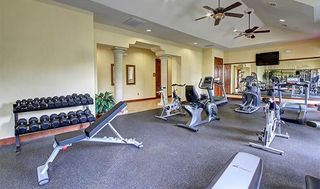 Fitness center in austin apartments