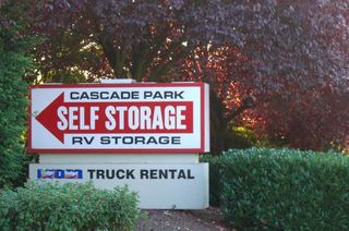 Self storage sign in vancouver