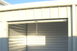 Vancouver self storage unit interior