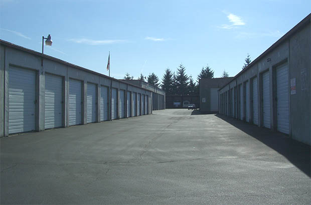 Self storage unit exteriors in vancouver