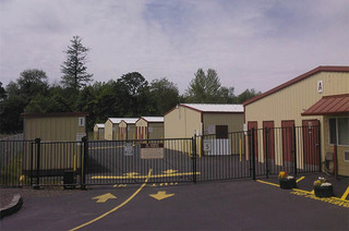 Self storage gate in forest grove