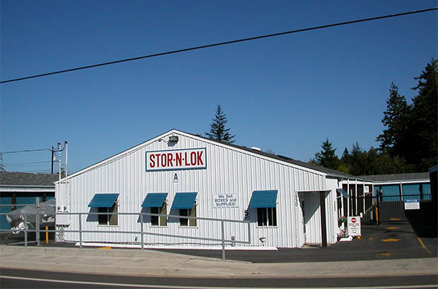 Coos bay self storage office