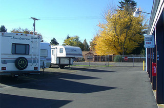 Rv parking at springfield self storage