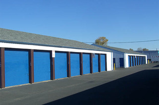 Self storage unit exteriors in springfield