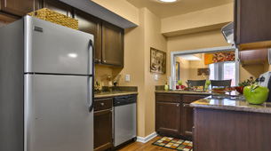 Stainless Steel Appliances at Jamestown