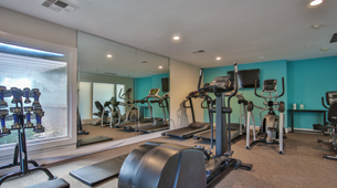 Exercise Room at Brookside Apartments