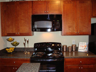 Evans apartments kitchen interior