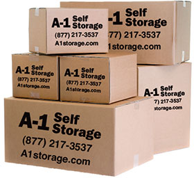 Business storage from A-1 Self Storage