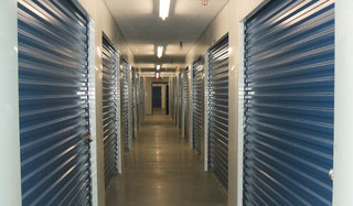 Gambrills self storage hallway