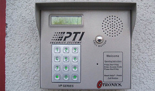 Security keypad self storage in gambrills