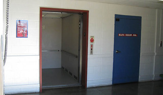 Self storage elevator in silver spring