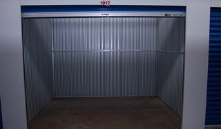 Chantilly self storage unit interior