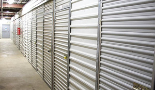 Alexandria self storage unit exterior