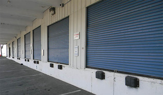 Loading bays at alexandria self storage