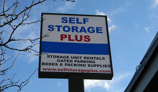 Self storage in alexandria sign