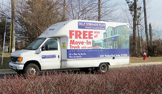 Self storage moving truck sterling
