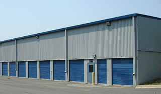 Unit exterior at self storage in sterling