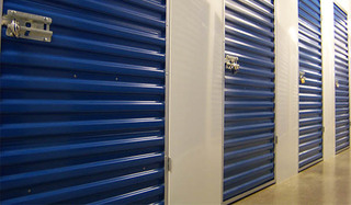 Manassas self storage unit exterior