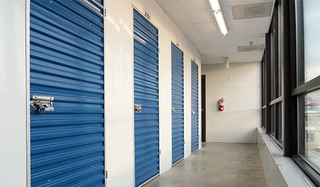 Self storage hallway in bel air