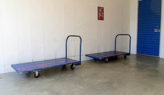 Self storage push carts in bel air