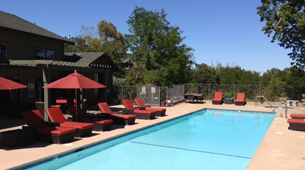 Lap Pool at Crooked Oaks Apartments