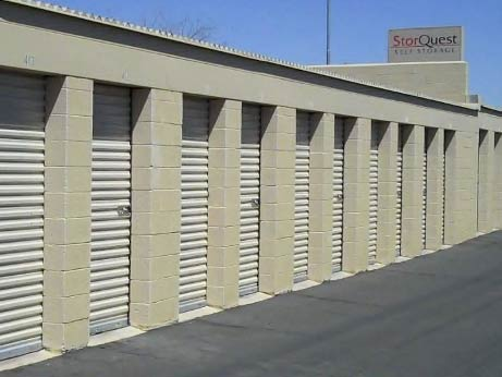 Drive up units StorQuest Storage