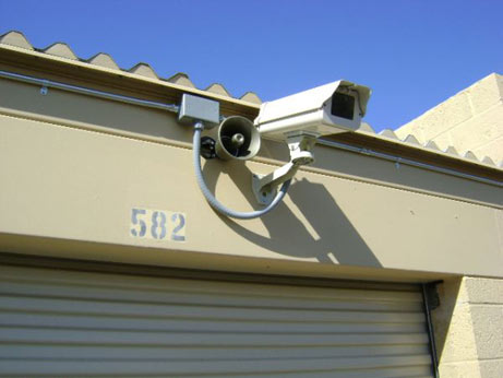Security camera for our exterior storage units